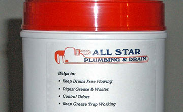 Ask about our drain cleaner!
